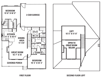 Charmant 2 Bedroom Townhouse U2013 1st Floor Master Bedroom.